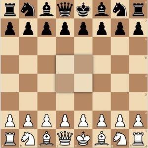 początkowy układ szachów